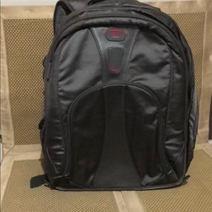 TUMI T-TECH Gray/Black Backpack Laptop Travel Bag